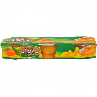 Island Choice Mandarin Orange Cups, 3-ct. Packs