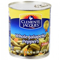 Clemente Jacques Pickled Whole Jalapenos, 26-oz. Can