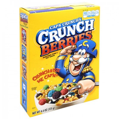 Capn Crunch's Crunch Berries, 4.4-oz. Boxes