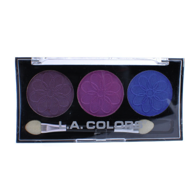 L.A. Colors Professional Series 3-Color Eyeshadow Palette Iris