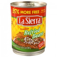 La Sierra Premium Refried Beans, 20.5-oz. Can