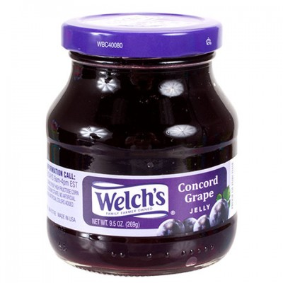 Welch s Grape Jelly, 9.5-oz. Jars