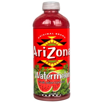 AriZona Watermelon Tea, 34 oz. Bottle