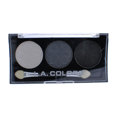 L.A. Colors Professional Series 3-Color Eyeshadow Palette Lily