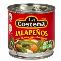 La Costena Green Pickled Whole Jalapenos, 12-oz. Can