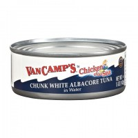 Van Camps Chunk White Albacore Tuna in Water, 5-oz. Can