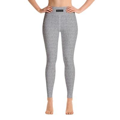 Bena & Eva Yoga Leggings - Gray Foam