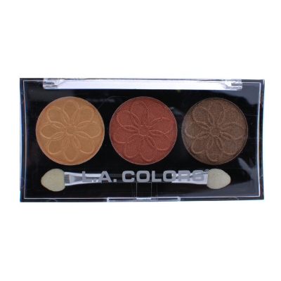 L.A. Colors Professional Series 3-Color Eyeshadow Palette Sunflower