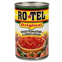 RoTel Original Diced Tomatoes with Green Chilies, 10-oz. Can