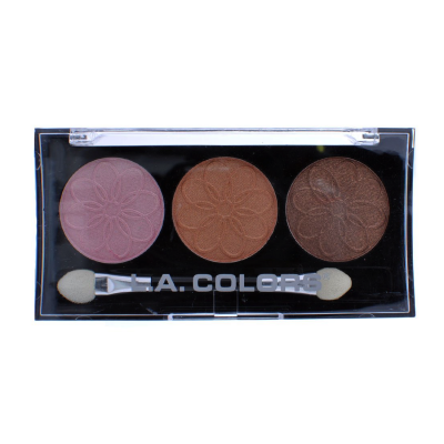 L.A. Colors Professional Series 3-Color Eyeshadow Palette Orchid