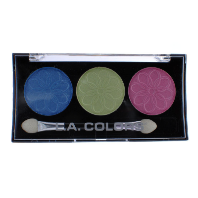 L.A. Colors Professional Series 3-Color Eyeshadow Palette Lotus
