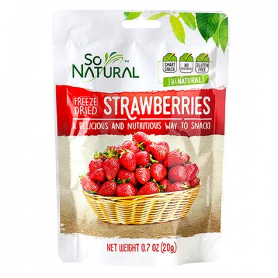 So Natural Freeze Dried Strawberries, .7-oz. Bag