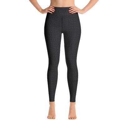 Bena & Eva Yoga Leggings - Black Squares